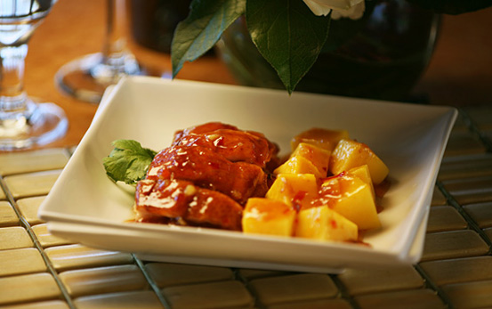Specialty Item: Mango Duck